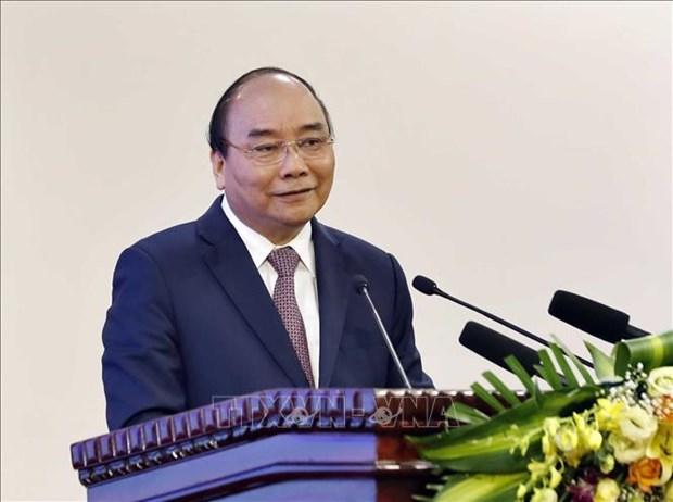 Le PM preside une reunion sur la cooperation avec le Laos et le Cambodge hinh anh 1