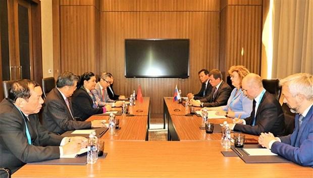 Le Vietnam booste ses liens avec les parlements asiatiques et europeens hinh anh 1