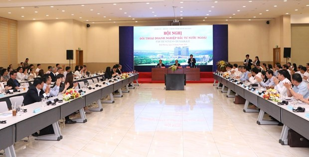 Binh Duong: une reunion de dialogue avec les entreprises etrangeres hinh anh 1