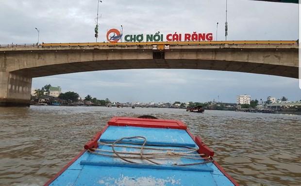 Le marche flottant de Cai Rang, la principale attraction de Can Tho hinh anh 1