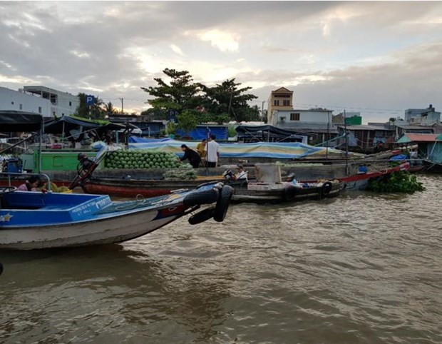 Le marche flottant de Cai Rang, la principale attraction de Can Tho hinh anh 2