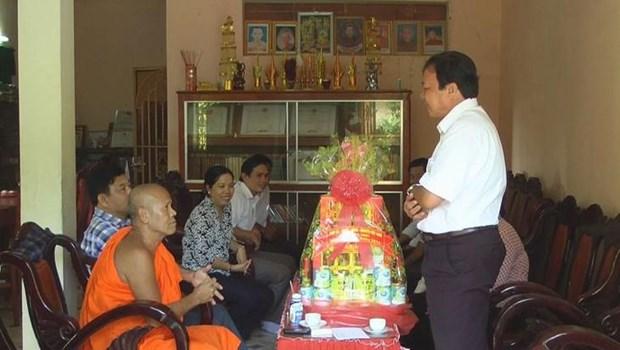 Les Khmers de Tra Vinh celebrent la fete Sene Dolta hinh anh 1