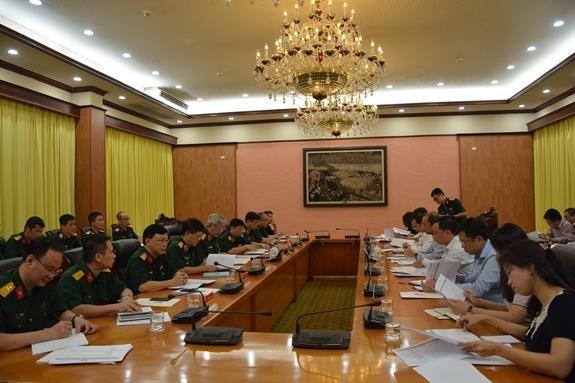 Le ministere de la Defense examine les preparatifs de l'Annee de l'ASEAN 2020 hinh anh 1
