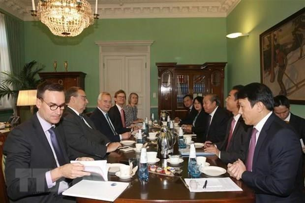 Le Vietnam souhaite developper un partenariat avec la Finlande hinh anh 1