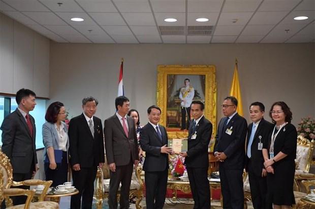 Une delegation du Front de la Patrie du Vietnam en Thailande hinh anh 1