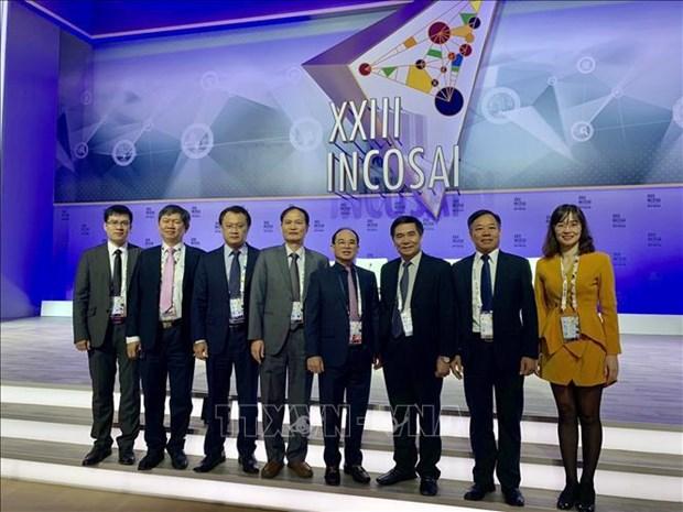 Vietnam participe au 23e Congres de l'INTOSAI en Russie hinh anh 1