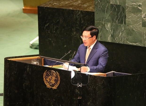 Le Vietnam souligne la cooperation multilaterale a la 74e AG de l'ONU hinh anh 1
