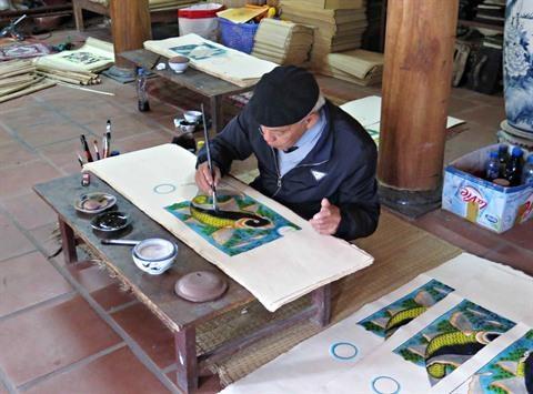 Un dossier sur les estampes de Dong Ho pour l'UNESCO en gestation hinh anh 2