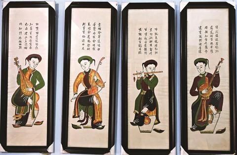 Un dossier sur les estampes de Dong Ho pour l'UNESCO en gestation hinh anh 3
