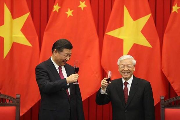 Le Vietnam felicite la Chine pour sa 70e Fete nationale hinh anh 1
