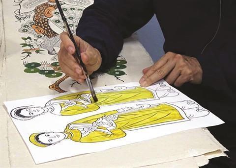 Le Bich et la passion pour les estampes de Dong Ho hinh anh 3