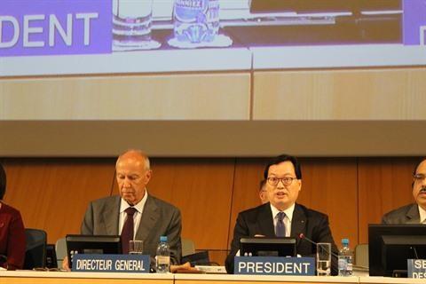 Le Vietnam assure bien la presidence l'Assemblee generale de l'OMPI hinh anh 1