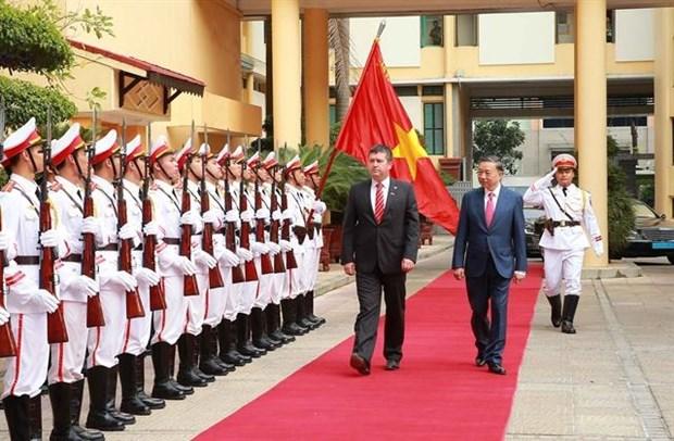 Le Vietnam et la Republique tcheque renforcent leur cooperation dans la lutte anti-criminalite hinh anh 1