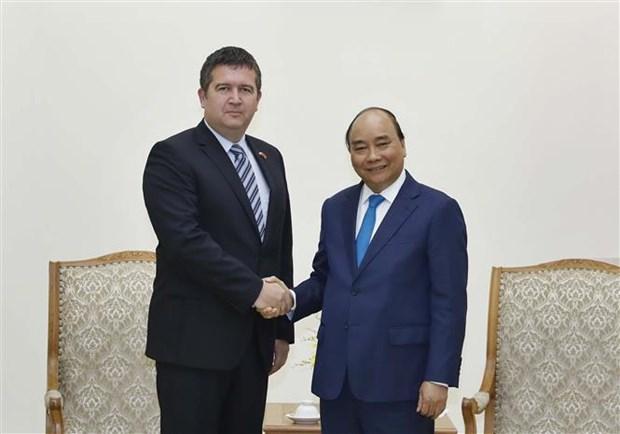 Le Premier ministre recoit le vice-Premier ministre tcheque Jan Hamacek hinh anh 1