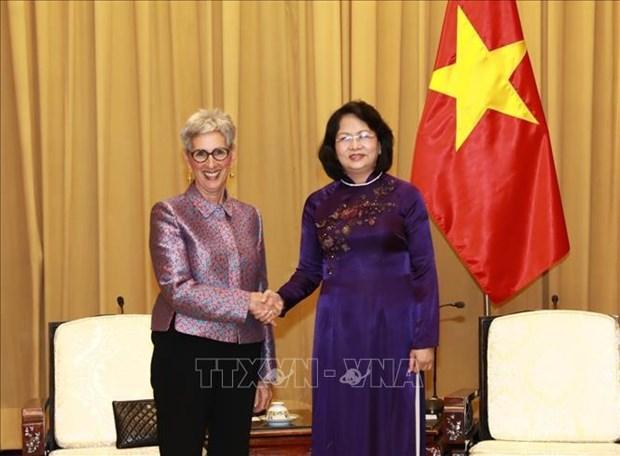 Le Vietnam cherit son partenariat strategique avec l'Australie hinh anh 1