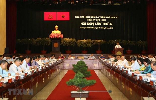 Le Comite du Parti de HCM-Ville tient sa 32e reunion hinh anh 1