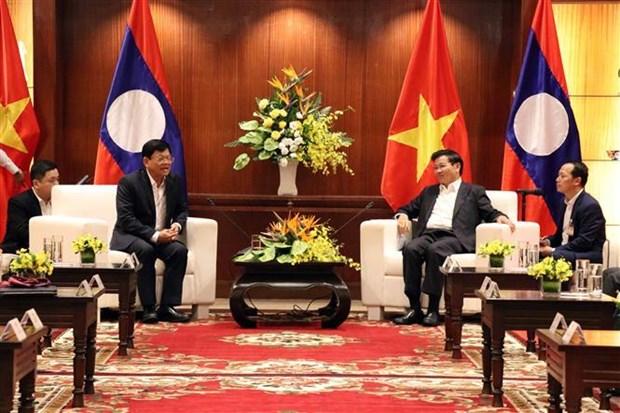 Le Premier ministre lao Thongloun Sisoulith se rend a Da Nang hinh anh 1