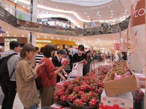 Promotion des produits agricoles dans le reseau de distribution AEON Mall hinh anh 2