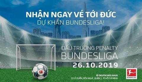 La Bundesliga choisit le Vietnam pour sa premiere competition de penalty hinh anh 1