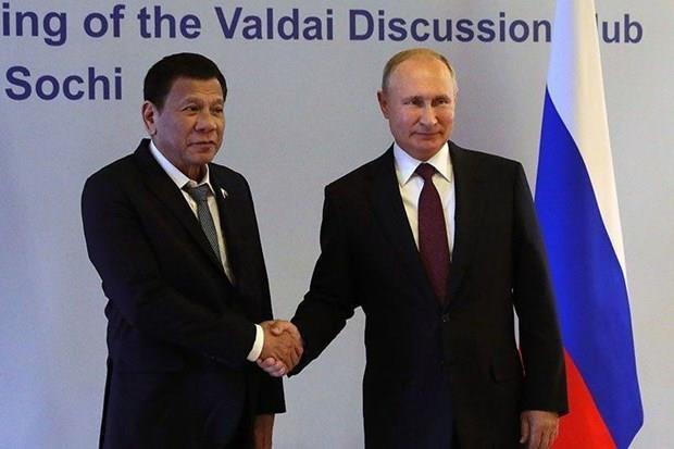 Les Philippines et la Russie vont elargir leur cooperation bilaterale hinh anh 1
