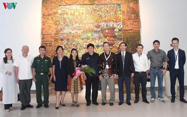 VOV ouvre son 12e bureau de correspondance en Indonesie hinh anh 1