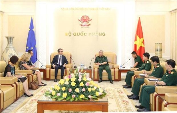 Pour promouvoir la cooperation dans la defense entre l'UE et le Vietnam hinh anh 1