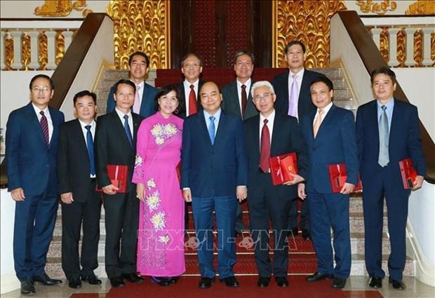 Le PM demande les efforts des ambassadeurs vietnamiens pour contribuer a l'edification nationale hinh anh 1