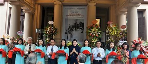 Des œuvres du peintre Le Ba Dang exposees a Hanoi hinh anh 1