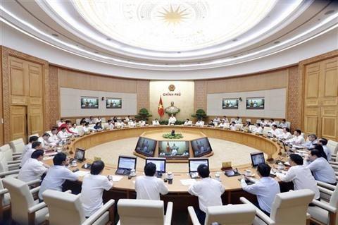 Le gouvernement assigne des taches pour le reste de l'annee hinh anh 1