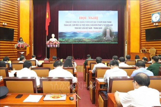 Frontiere terrestre Vietnam-Chine: Lang Son fait le point hinh anh 1