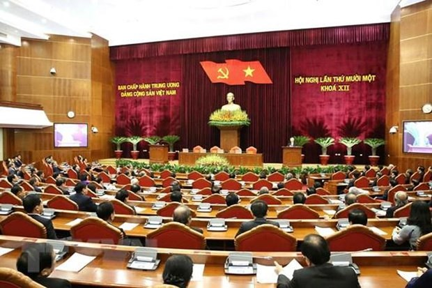 Le 11e Plenum du Comite central du Parti remplit son programme de travail fixe hinh anh 1