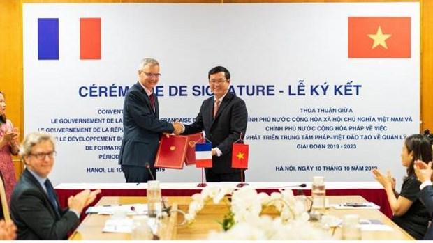 Le Vietnam et la France cooperent pour developper le CFVG hinh anh 1