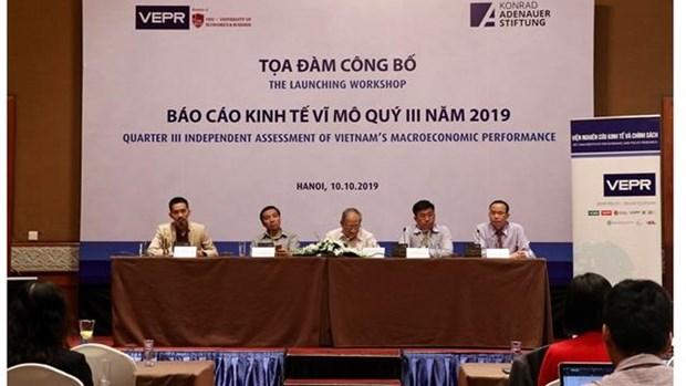 Le VEPR prevoit une croissance vietnamienne de 7,05 % en 2019 hinh anh 1