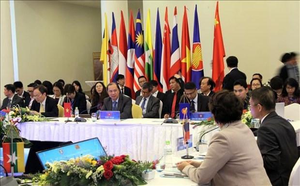 L'ASEAN et la Chine discutent de la mise en œuvre du DOC hinh anh 1