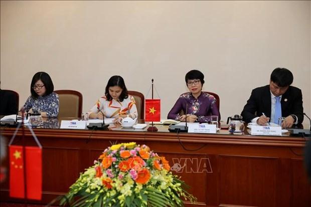 Pour une cooperation plus efficace entre VNA et Xinhua hinh anh 2