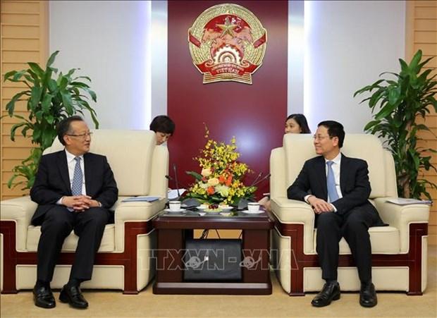 Pour une cooperation plus efficace entre VNA et Xinhua hinh anh 1