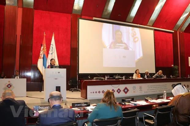 Le Vietnam a la seance pleniere de la 141e Assemblee de l'IPU hinh anh 1