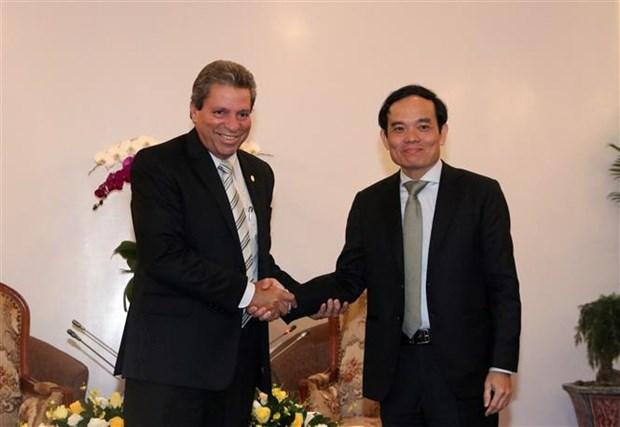 Renforcement de la cooperation entre le Vietnam et Cuba hinh anh 1