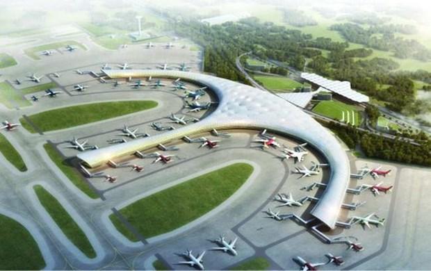 L'aeroport international de Long Thanh, une porte ouverte sur le monde hinh anh 1