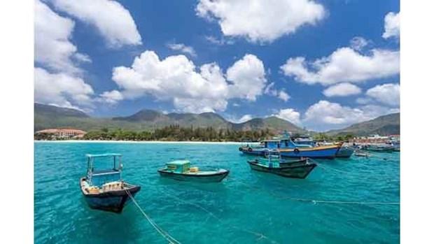 Con Dao figure parmi les endroits ou l'eau est la plus bleue du monde hinh anh 1