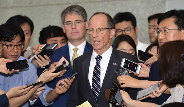 Mer Orientale : Un secretaire d'Etat adjoint americain condamne hinh anh 1