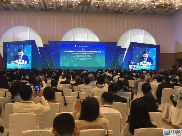 Ho Chi Minh-Ville s'emploie a devenir un centre financier mondial hinh anh 1