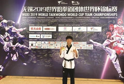 Coupe du monde de taekwondo : le magistral Pham Quoc Viet hinh anh 1