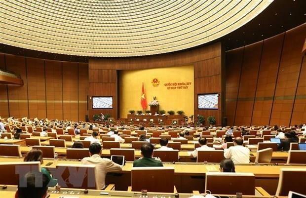 Communique sur l'ouverture de la 8e session de l'Assemblee nationale hinh anh 1