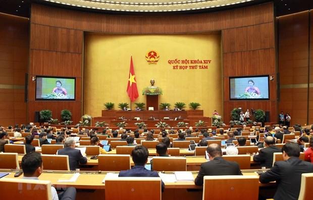 La 8e session de l'AN de la 14e legislature debute a Hanoi hinh anh 1