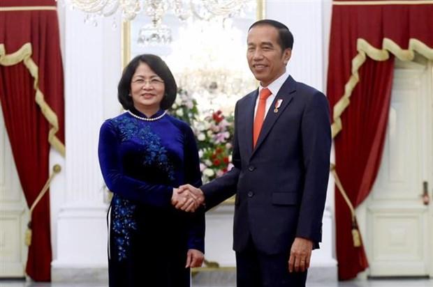 Le Vietnam et l'Indonesie satisfaits de leur partenariat strategique hinh anh 1
