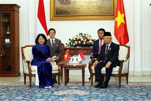 Le Vietnam et l'Indonesie satisfaits de leur partenariat strategique hinh anh 2