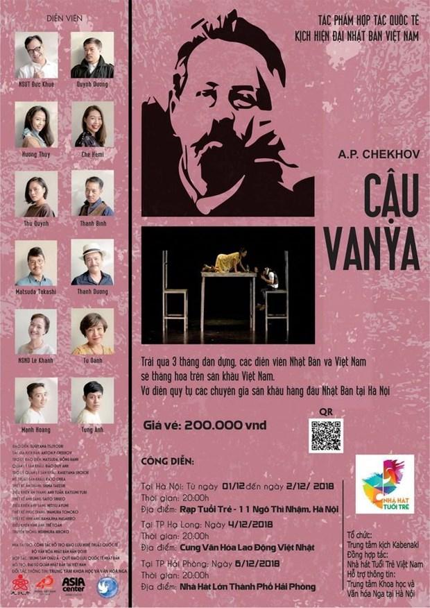 Theatre : Oncle Vania d'Anton Tchekhov fait peau neuve a Hanoi hinh anh 2