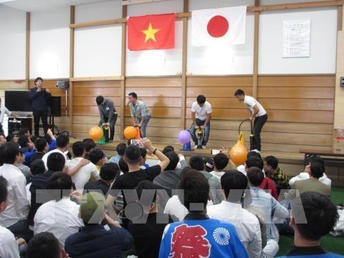Les apprentis et ingenieurs vietnamiens au Japon ont leur festival hinh anh 1
