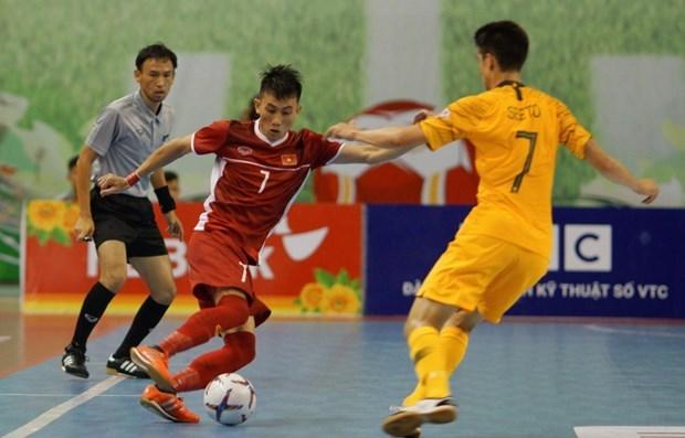 AFF HDBank Futsal 2019 : Le Vietnam part du bon pied hinh anh 1